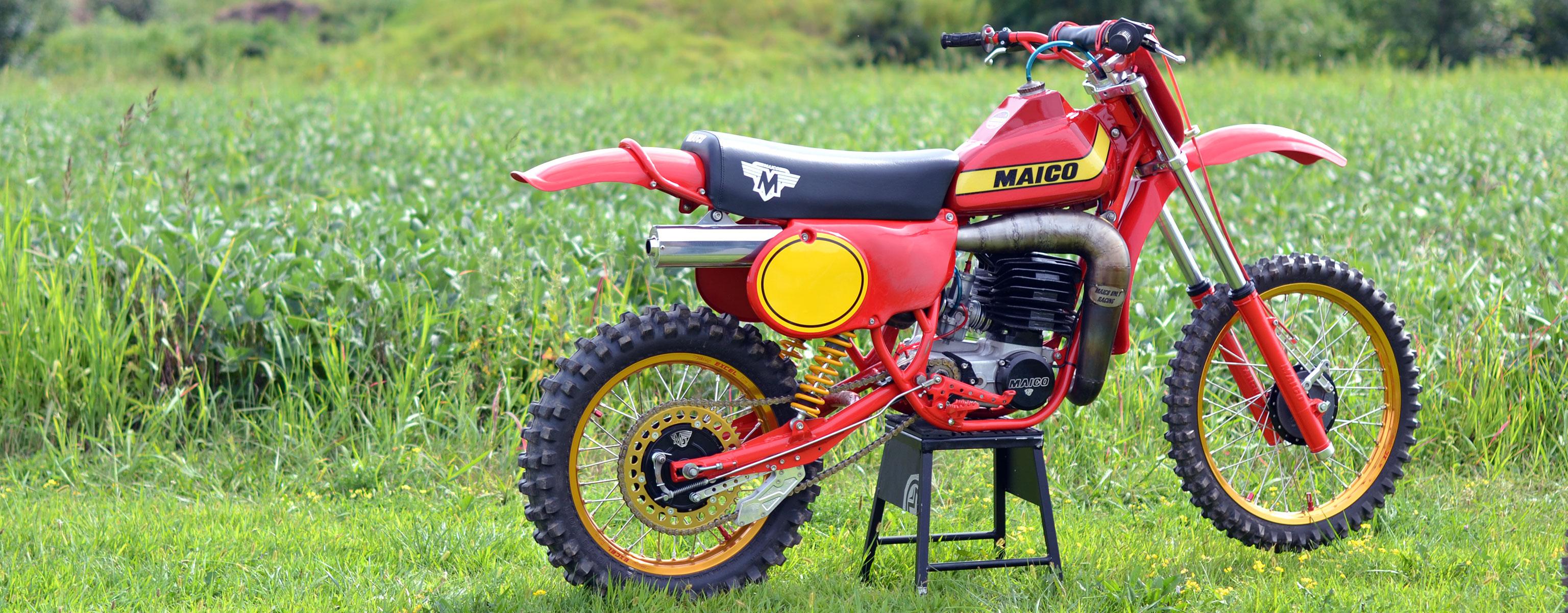 Vintage 1979 Maico Motorcycle Restoration