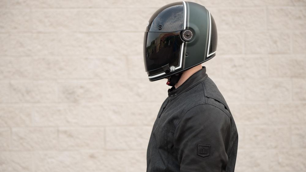 Bell Bullitt Rsd Gloss Matte Green Range Helmet Get Lowered Cycles