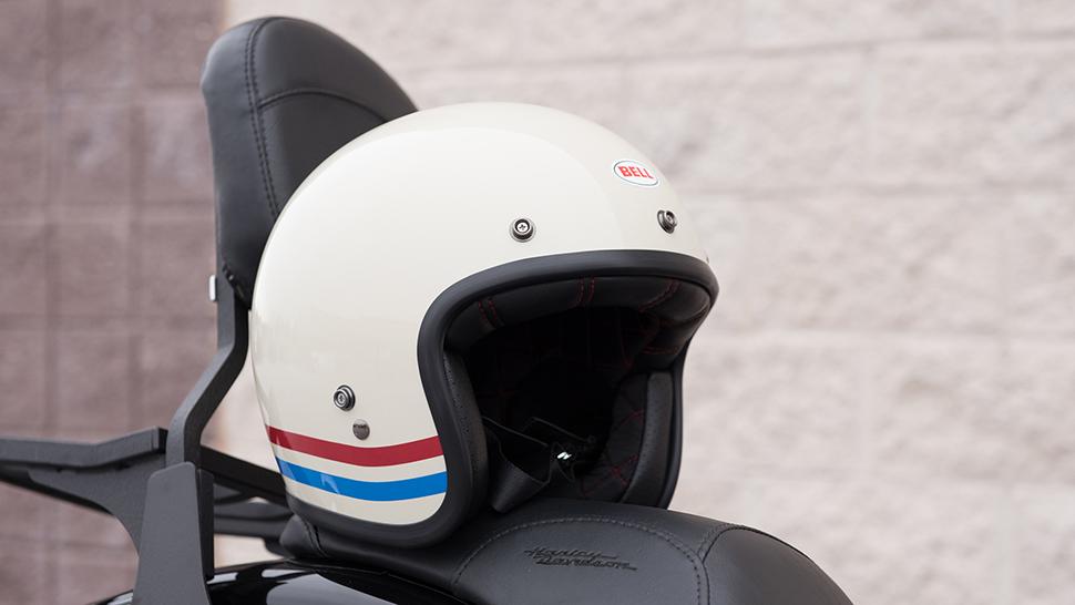 Bell Custom 500 Stripes Pearl White Helmet Review Get