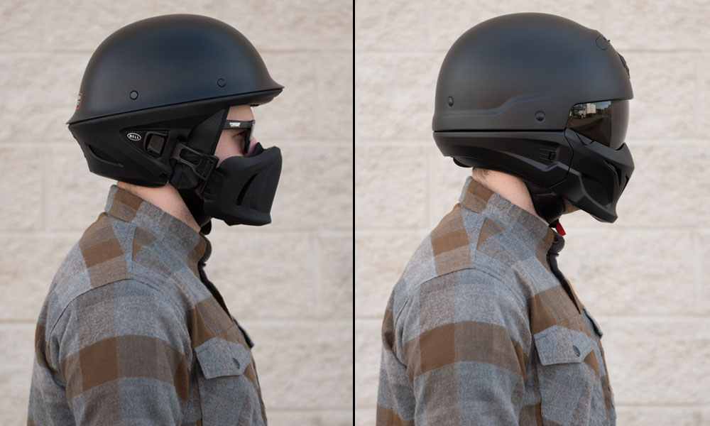 Scorpion Motorcycle Helmets >> Scorpion Covert vs. Bell Rogue - Get Lowered Cycles