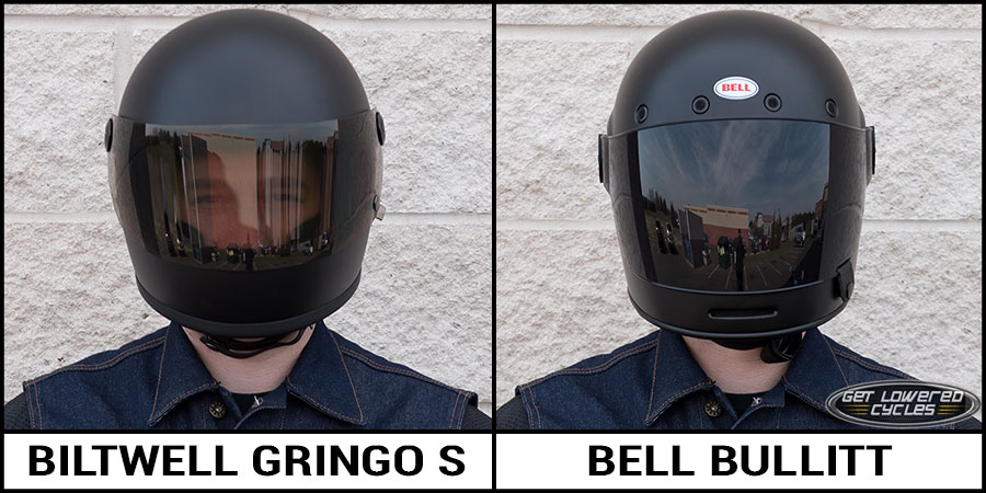 Biltwell Gringo S And Bell Bullitt Helmet Comparison