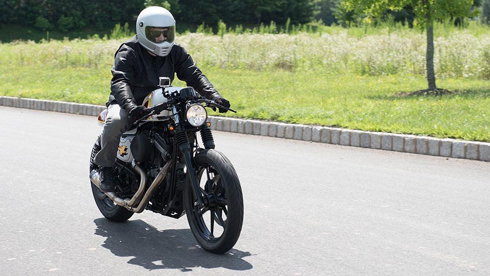 Full Motorcycle Helmet >> Biltwell Lane Splitter Helmet Review - Get Lowered Cycles