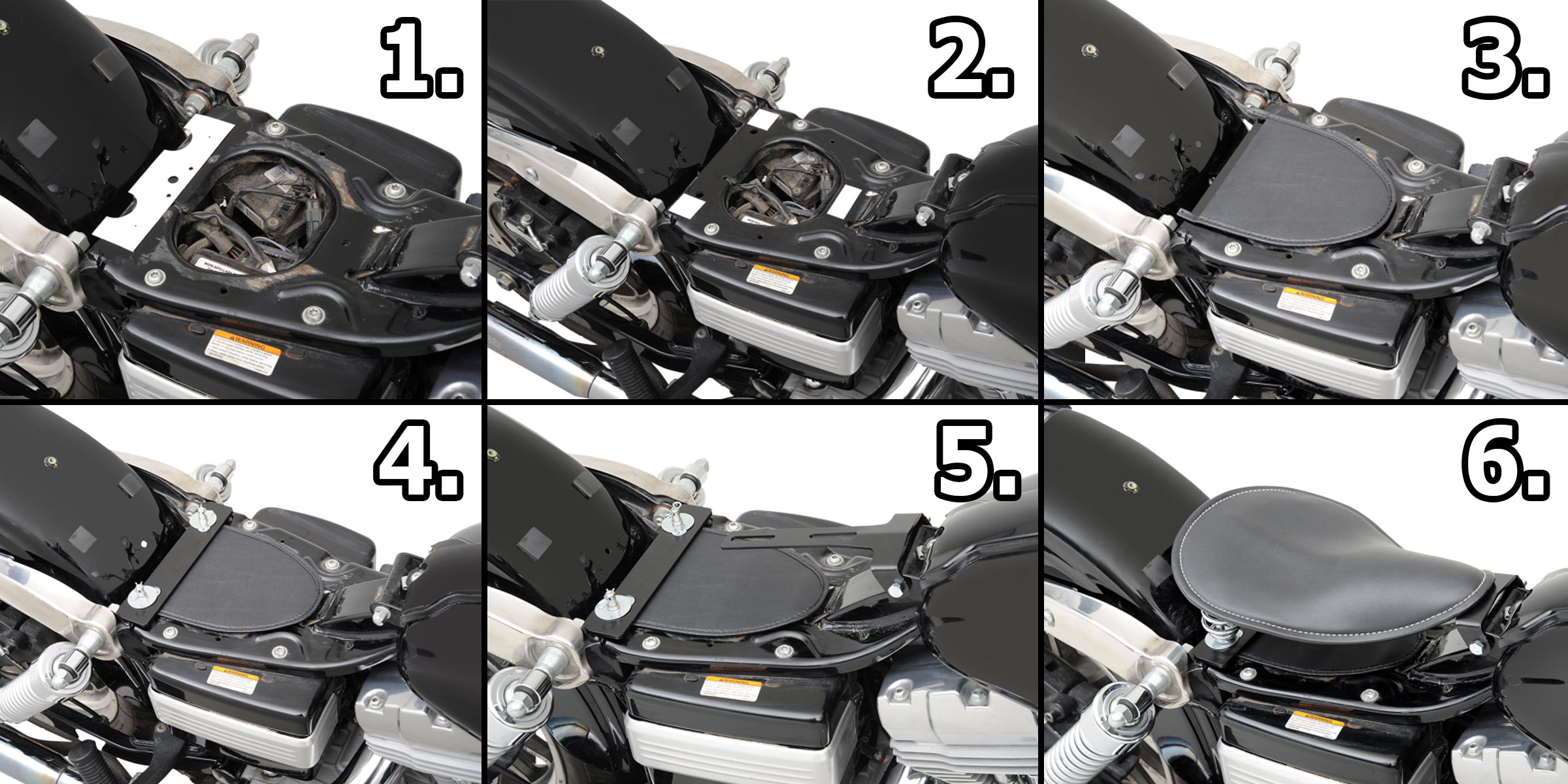 Diy Solo Seat Installation Steps For Harleys And Custom Motorcycles