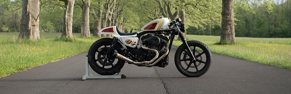 Bike Build - From Stock Harley Sportster to Café Racer - Get Lowered