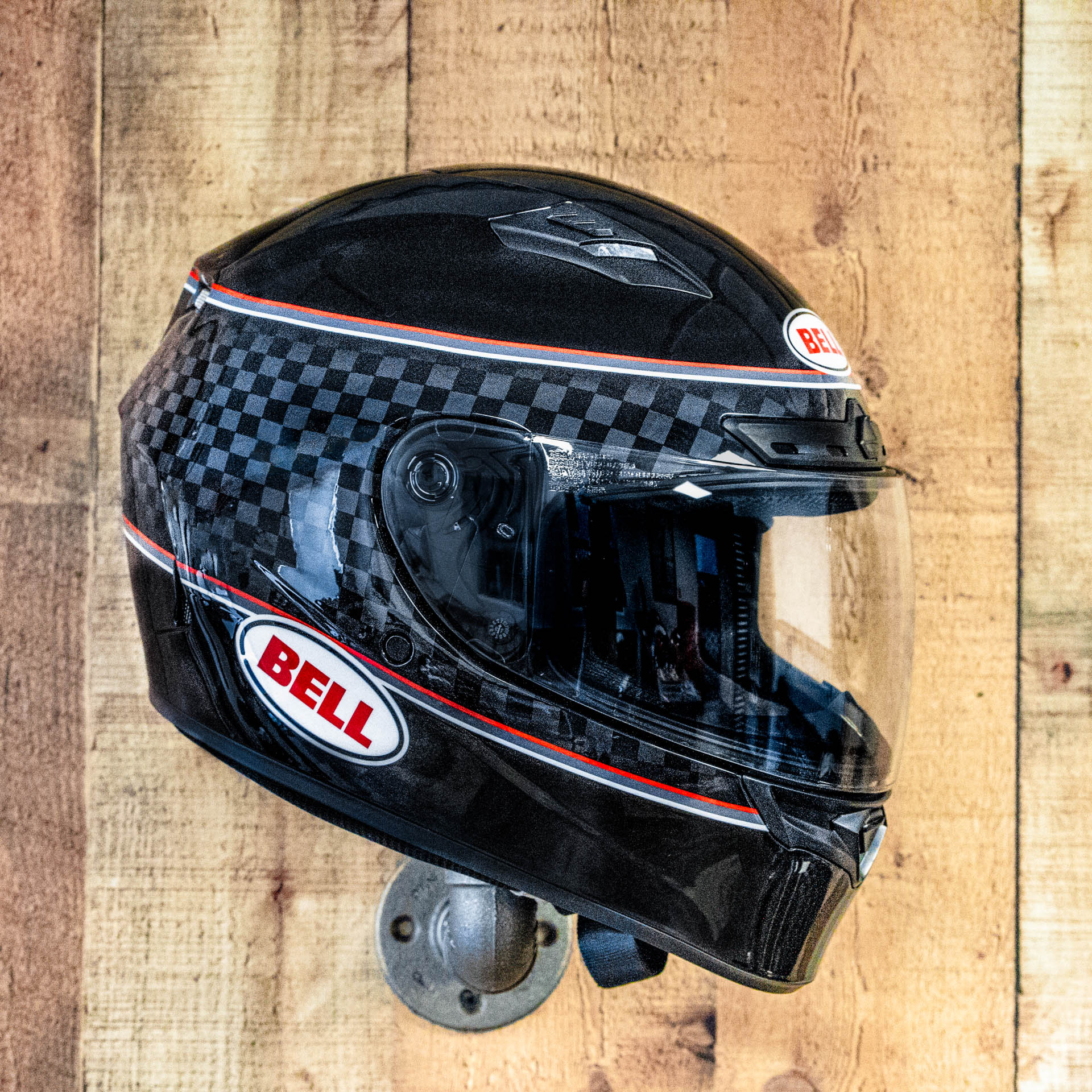 Bell Qualifier DLX MIPS Helmet - Breadwinner Gloss Black/White