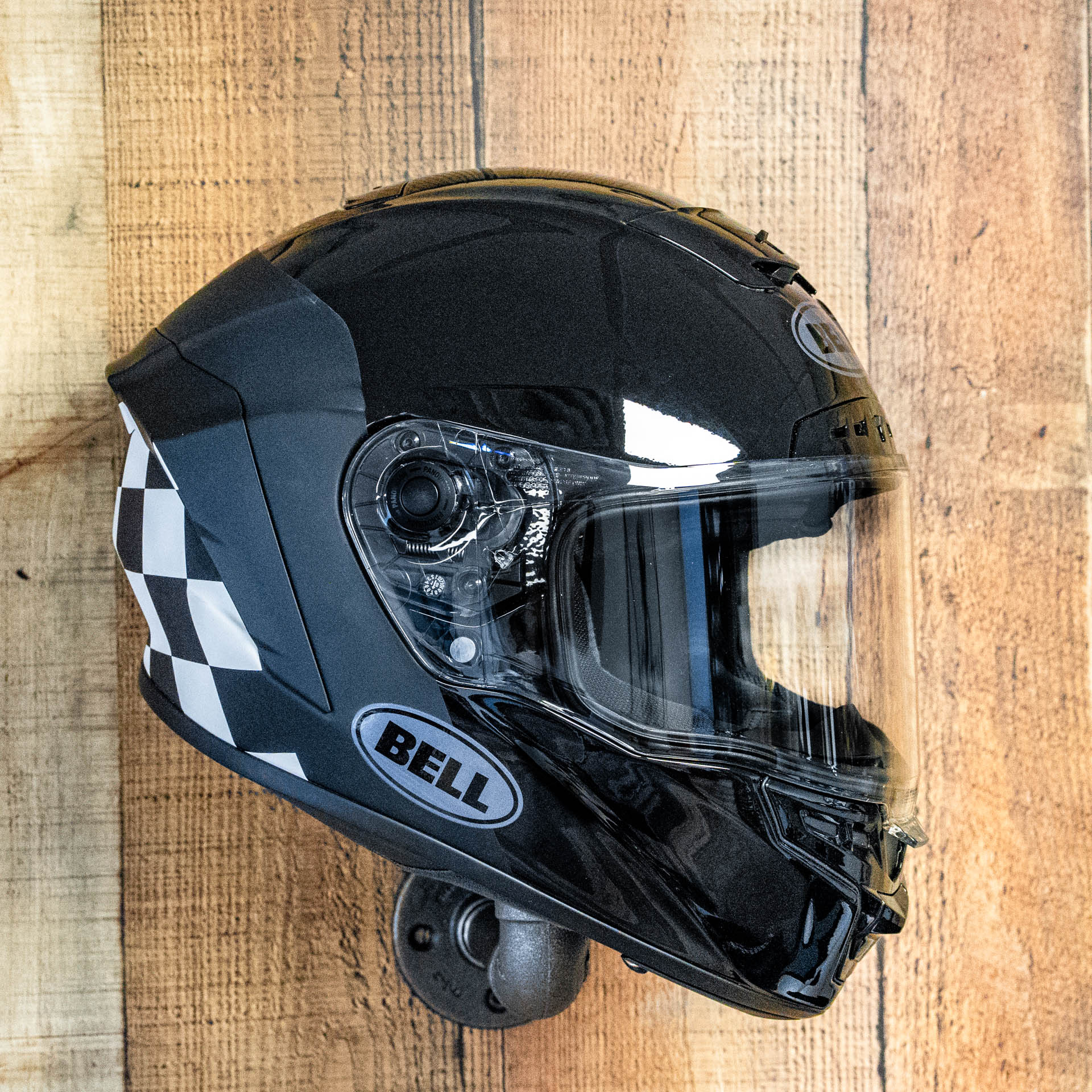 Bell Star MIPS DLX Helmet - Lux Checkers Matte/Gloss Black/White