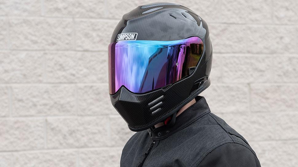 Simpson Ghost Bandit Carbon Helmet Overview Get Lowered