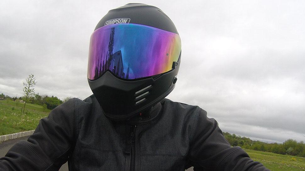 Carbon Fiber Motorcycle Helmet >> Simpson Ghost Bandit Helmet Review - Retro Style Plus Modern Features - Get Lowered Cycles